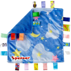 Little Taggies Blanket