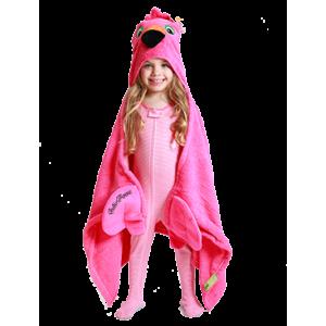 Hooded Towel Flamingo