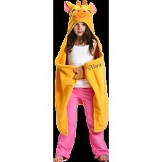 Hooded Towel Giraffe