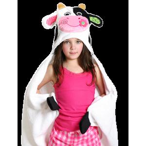 Hooded Towel Cow