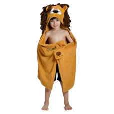 Hooded Towel Lion