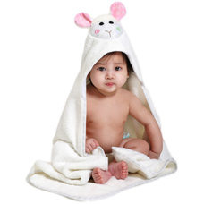 Hooded Towel Lamb