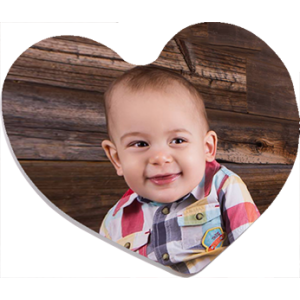 Heart Photo Magnet