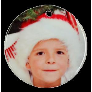 Ceramic Christmas Ball Ornament
