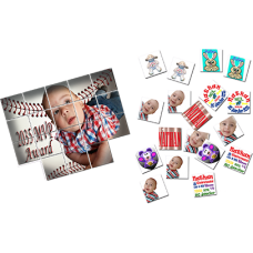 Photo Memory Game set