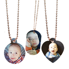 Photo Pendants Necklace