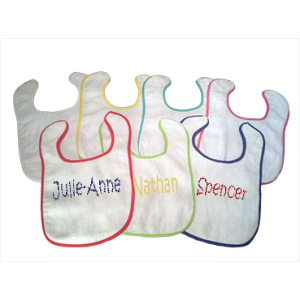 Terry Cloth Bibs