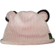 Silk Cotton Knit Bear Beanie