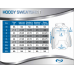 Adults Poly Performance Hoody Sweatshirt