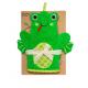 Bath Mitt Frog