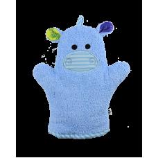Bath Mitt Hippo