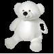 TEDDY BEAR 16'' WHITE