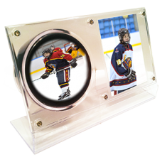 Hockey Puck Combo Display
