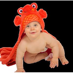 Baby Hooded Towel Crab