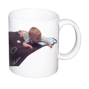 11OZ CERAMIC PHOTO MUG
